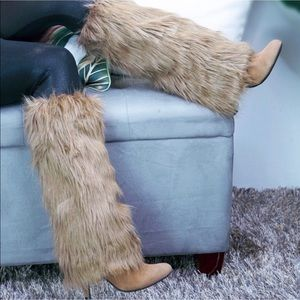 Fun Furry Boot covers/ Leg warmers